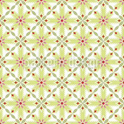 Blume Des Khan Muster Design