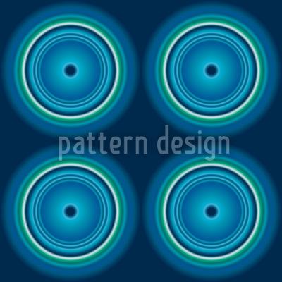 Fidelio Blau Nahtloses Muster