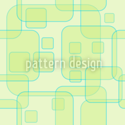 Square Theories Seamless Vector Pattern