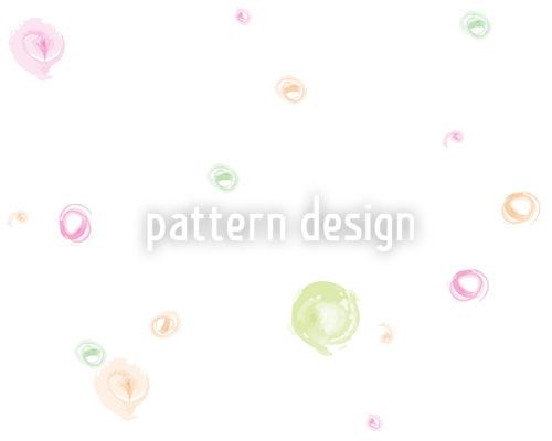 Aqua Blubb Seamless Vector Pattern