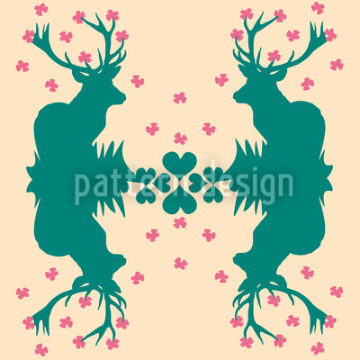 Wild For Butterflies Repeating Pattern