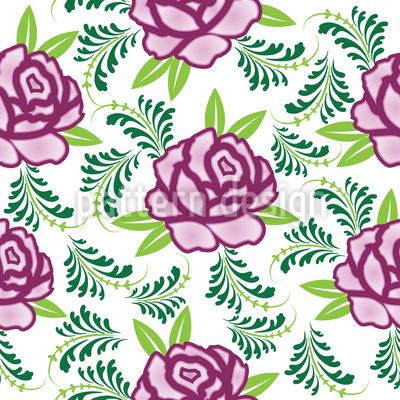 Meine Schottische Rose Muster Design