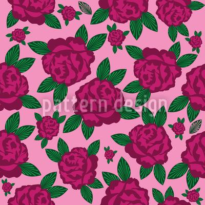 My English Rose Pattern Design