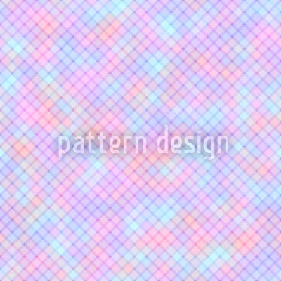 Soft Diamonds Pattern Design