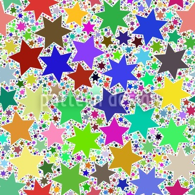 Happy Birthday Martina Vector Pattern