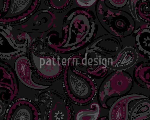 Mystical Paisley Pattern Design