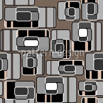 Überflug In Grau Vektor Muster