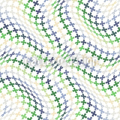 Swell Of Crosses Seamless Vector Pattern
