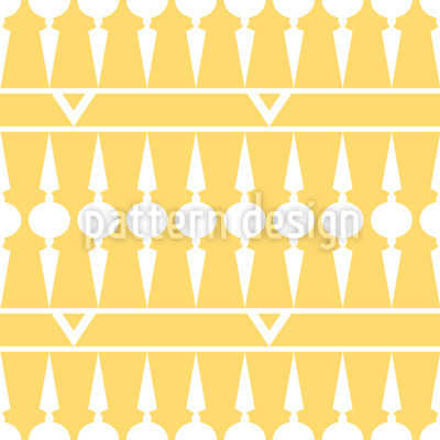 Balconia Yellow Repeating Pattern