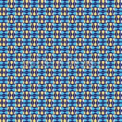 Bulcao Brasilia Nahtloses Muster