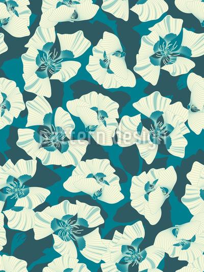 Blumen Weit Weit Weg Musterdesign