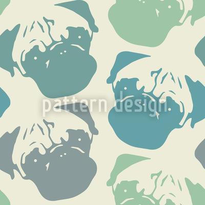 Mopsy Pop Pastell Designmuster