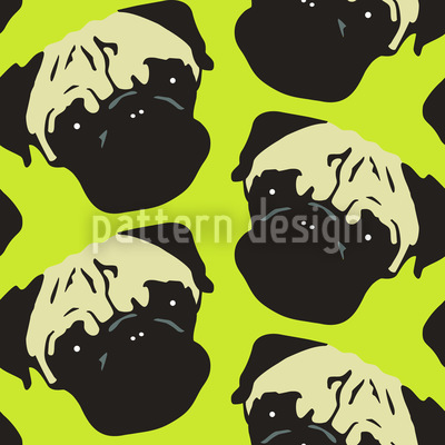 Puggy Pop Lime Vector Design