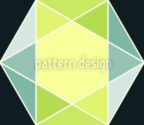 Geometrischer Schliff Nahtloses Vektor Muster