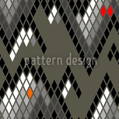 Checkered Mountain High Pattern Design
