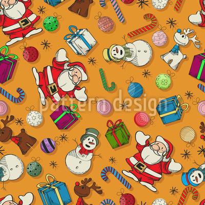 Weihnacht Überall Vektor Design