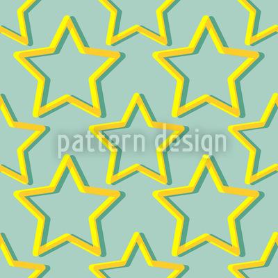 Funkel Kleiner Stern Vektor Muster