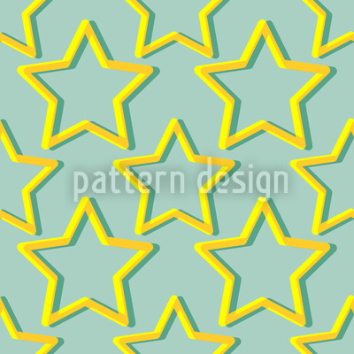 Twinkle Little Star Vector Pattern