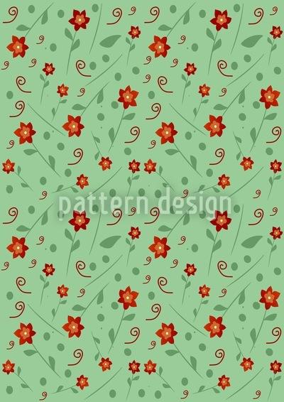 Anas Kleiner Blumengarten Musterdesign