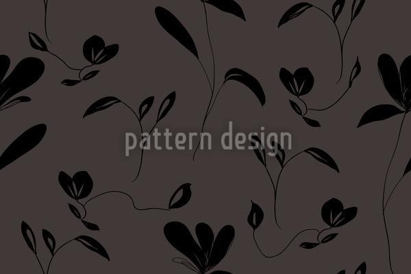 Blütenregen Muster Design