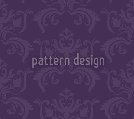 Portos Barock Violett Designmuster