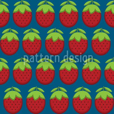 Erdbeeria Rapportiertes Design