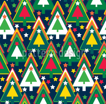 Once Upon A Christmas Tree Vector Ornament