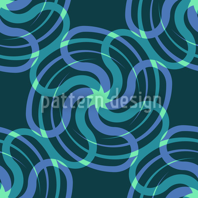 Medusas Sternenwirbel Vektor Ornament