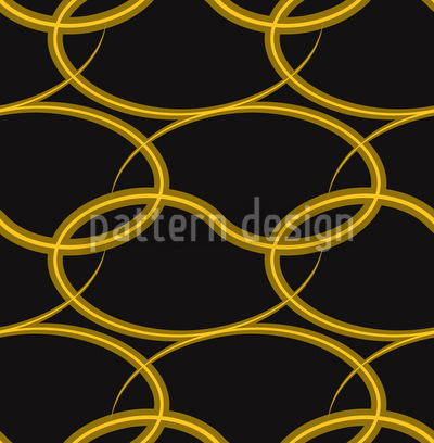 Goldenes Gewebe Nahtloses Vektor Muster
