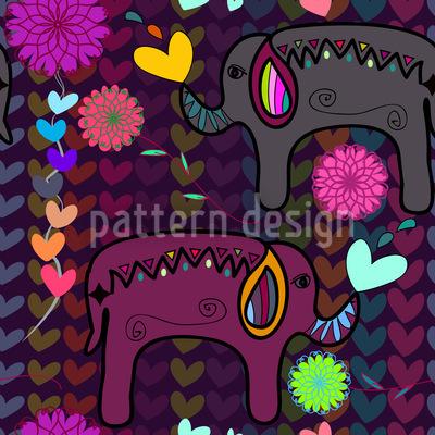Hindu Love Pattern Design