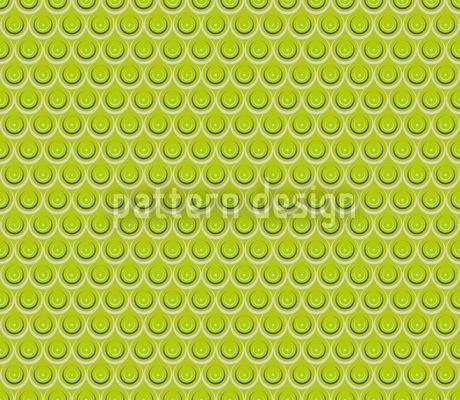 Tropf Tropf Grasgrün Nahtloses Vektor Muster