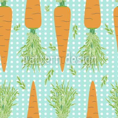 Lotta Carrota Dance The Polka Dots Vector Pattern