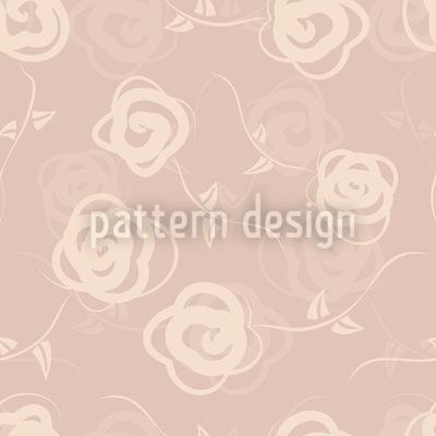 Dornröschens Blumenschaukel Vektor Muster