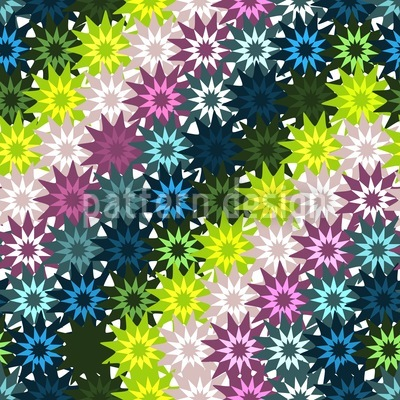 Star Crafts On Top Vector Pattern
