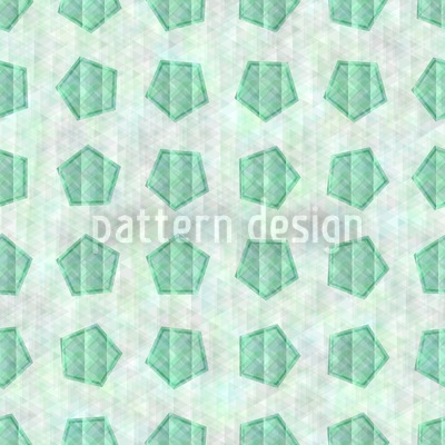 The Emerald Pentagon Pattern Design