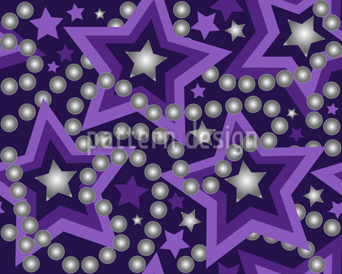Perla Stellar Repeat Pattern