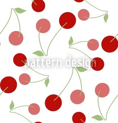 Cherries For Dessert Vector Ornament
