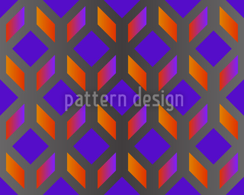 Blockwork Orange Muster Design