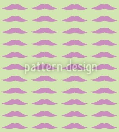 Monsieur Poirots Bart Rapportiertes Design