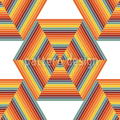 Nuklear Hexagon Musterdesign