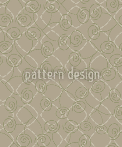 Roses Captured Vector Pattern