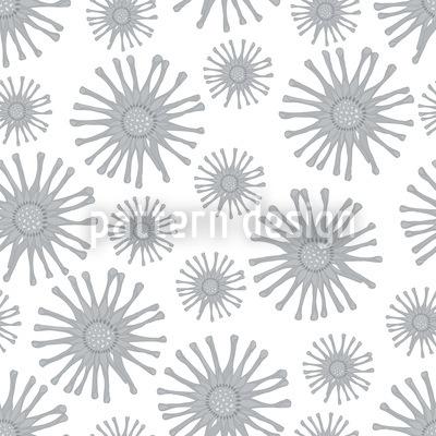Monochrome Sternblumen Rapport