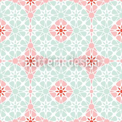 Winterblum Muster Design