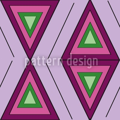 The Colors Of The Triangles Design Pattern