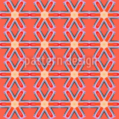 Sternenkreuzer Abstrakt Nahtloses Muster