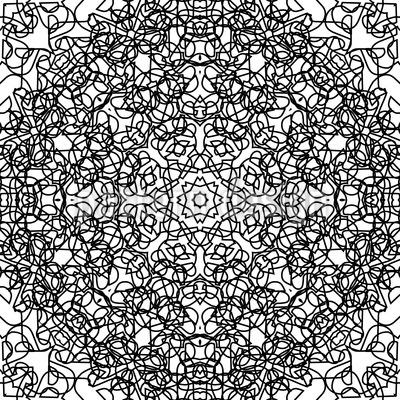 Rosetta Babylonia Vector Pattern