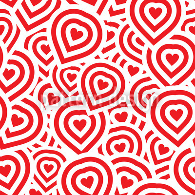 Campinos Heart Repeating Pattern