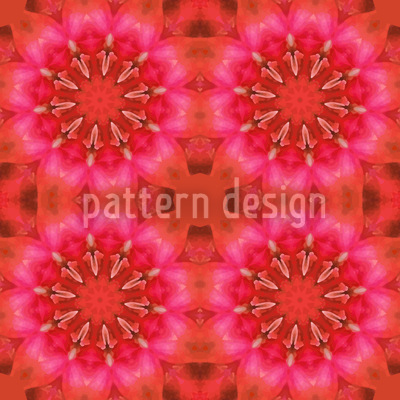 Pandora Flora Rot Muster Design