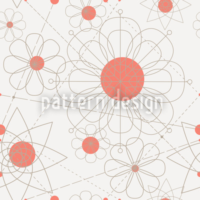 Construction Floral Vector Design