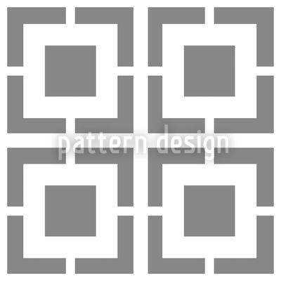 Monochromes Gitter Vektor Muster